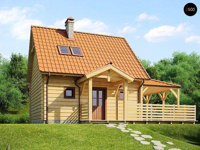 Каркасный дом проекта ts_i_08_1