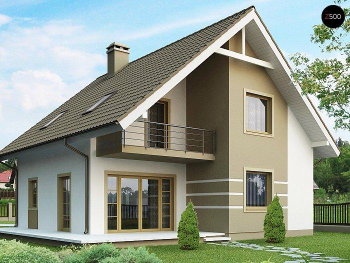 Каркасный дом проекта ts_i_09_1