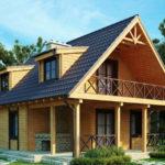 Каркасный дом проекта ТС-10